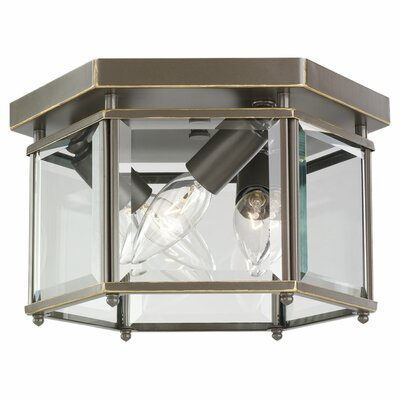 Pinecrest 3-Light Outdoor Flush Mount