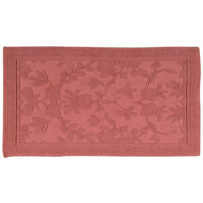 Bloomfield Hills Bath Mat Color: Coral