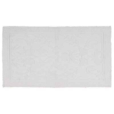 Bloomfield Hills Bath Mat Color: White