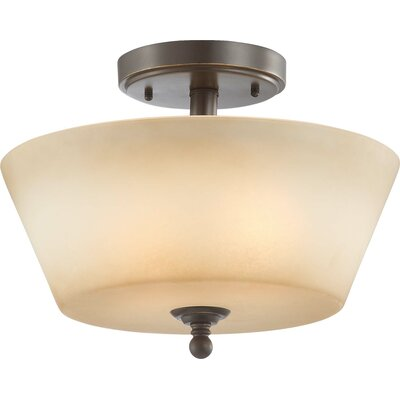 Reynal 2-Light Semi-Flush Mount