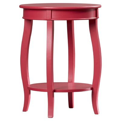 Axtell End Table Color: Bubblegum