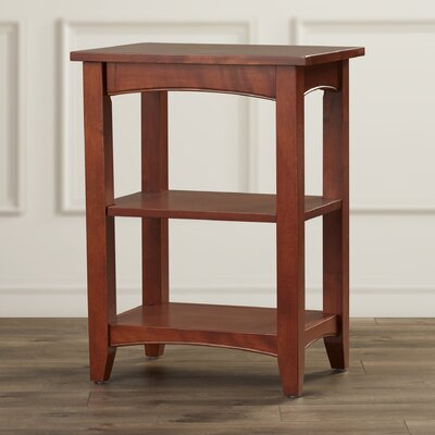 Birch Creek Two Shelf End Table Finish: Cherry