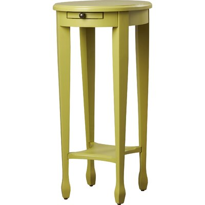 Wentworth Side Table Color: Pear Green