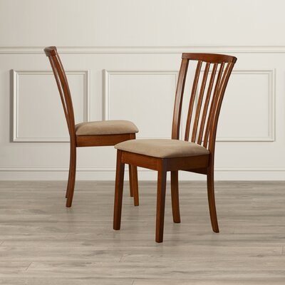 Peru Side Chair with Cushion Finish: Oak