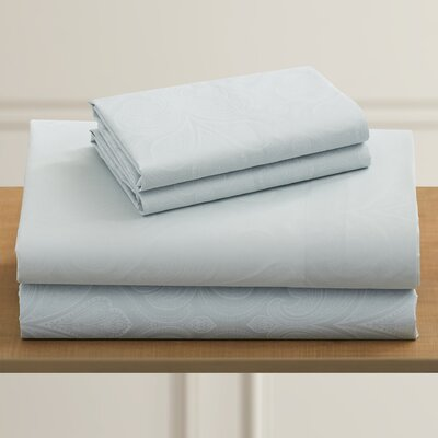 Fitzlewis 300 Thread Count Microfiber Sheet Set Size: King, Color: Soft Jade