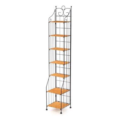 Wood Multimedia Storage Rack
