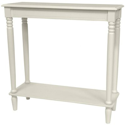 Adelphi Design Console Table Finish: White