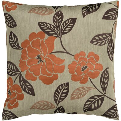 Bethesda Flower Garden Throw Pillow Size: 18 H x 18 W x 4 D, Filler: Down