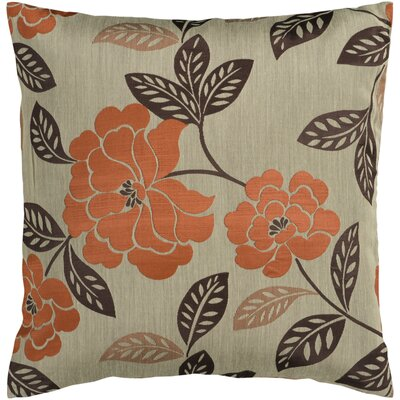 Bethesda Flower Garden Throw Pillow Size: 22 H x 22 W x 4 D, Filler: Down