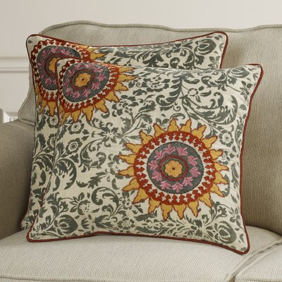Forthill Cotton Throw Pillow