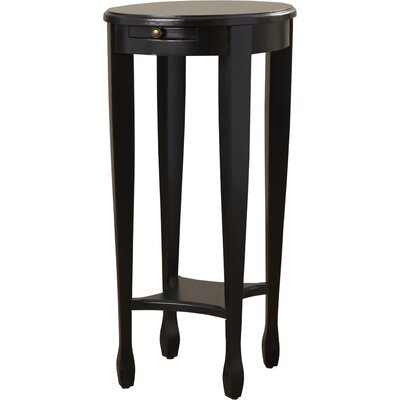 Wentworth Side Table Color: Plum Black