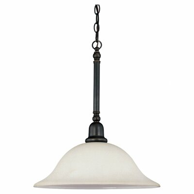 Darmstadt Traditional 1-Light Mini Pendant Finish: Polished Bronze