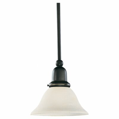 Harrisburg 1-Light Mini Pendant Finish: Polished Bronze