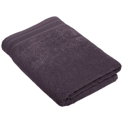 Dunlap Bath Towel Color: Eggplant