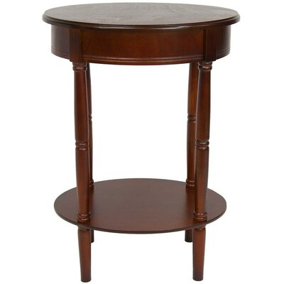 Adelphi Oval End Table Color: Cherry