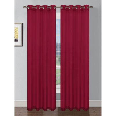 Gallimore Grommet Single Curtain Panel