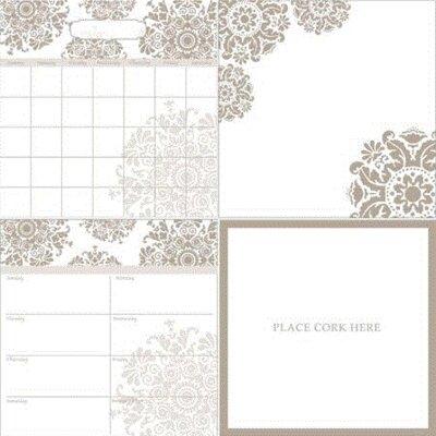 4-Piece Whiteboard Wall Decal Set 00571FA458B7434586F8B3317AF90964