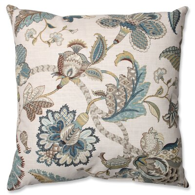 Erie 100% Cotton Throw Pillow Size: 24.5 H x 24.5 W x 5 D