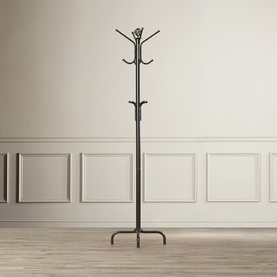 Coat Rack in Satin Black