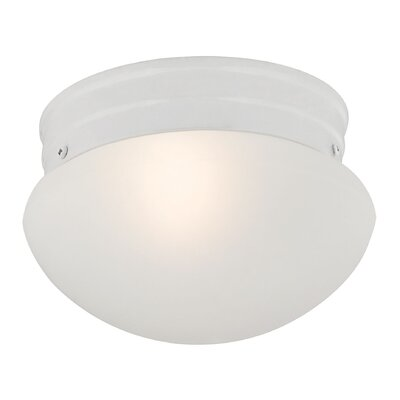 Cedar Rapids 1-Light Flush Mount Finish: White