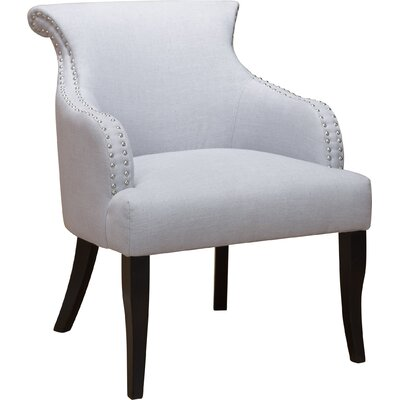 Limewood Hill Barrel Chair Upholstery: Light Gray