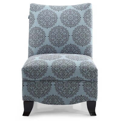 Dixie Gabrielle Slipper Chair Upholstery: Teal