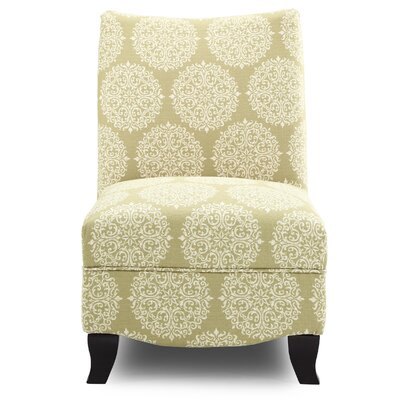 Dixie Gabrielle Slipper Chair Upholstery: Moss