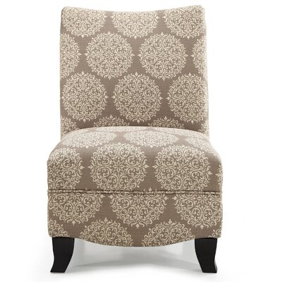 Dixie Gabrielle Slipper Chair Upholstery: Stone