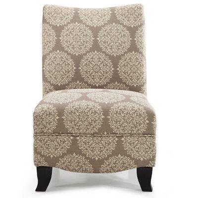 Dixie Gabrielle Slipper Chair Upholstery: Stone