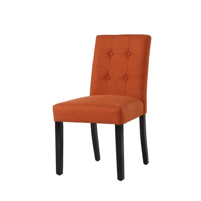 Izetta Side Chair Upholstery Color: Henna