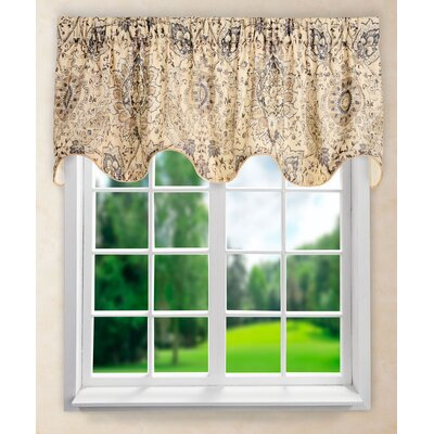 Stanley Curtain Window Valance Color: Grey