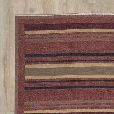 Kiowa Hand-Woven Red Area Rug