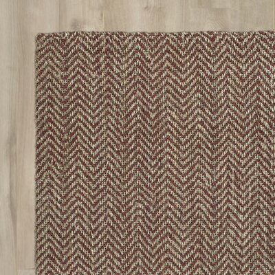 Otto Hand-Loomed Brick Area Rug
