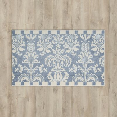 Poquonock Blue/White Area Rug