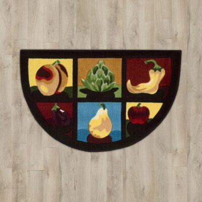 Poquonock Fruits & Vegetables Area Rug
