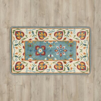 Bowhill Ivory Floral Area Rug