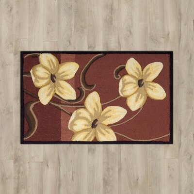 Arpdale Red Magnolia Area Rug