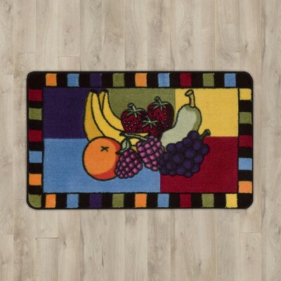 Poquonock Fruit Area Rug