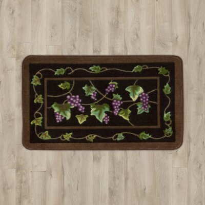 Poquonock Black Grapes Area Rug