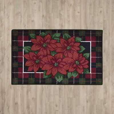 Red/Green Area Rug