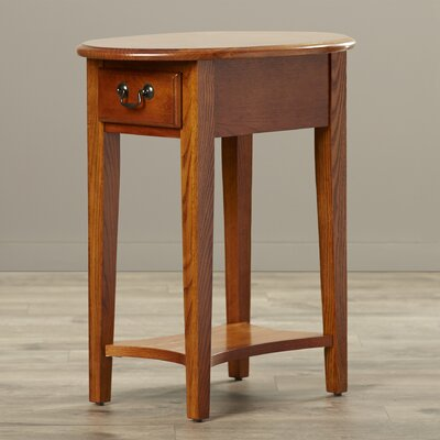 Apple Valley Oval End Table Finish: Medium Oak