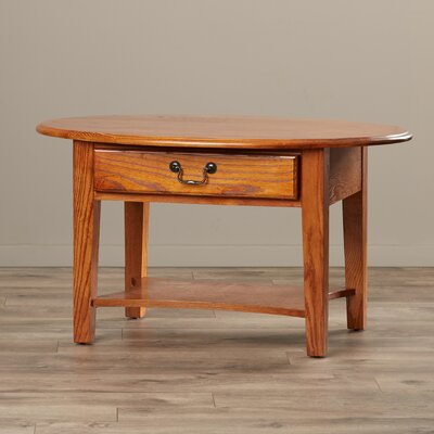 Apple Valley Oval Coffee Table Finish: Medium Oak