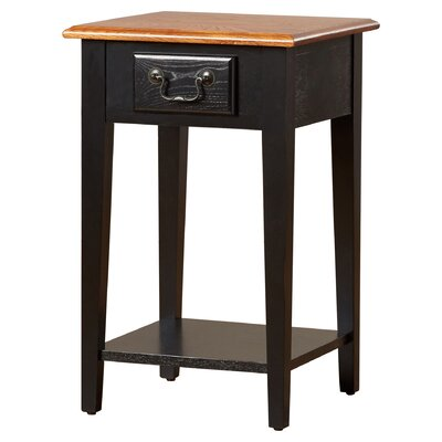 Apple Valley Square End Table Color: Slate