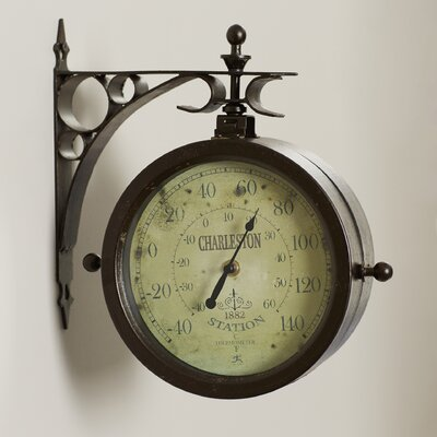 8 Two Sided Wall Clock