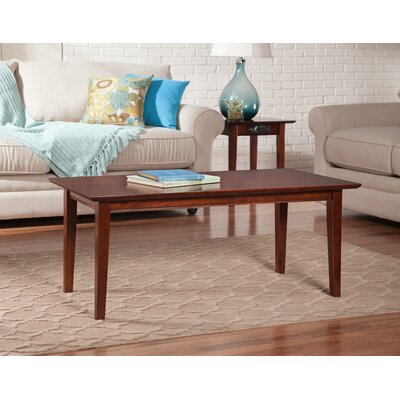 Oliver Coffee Table Finish: Walnut