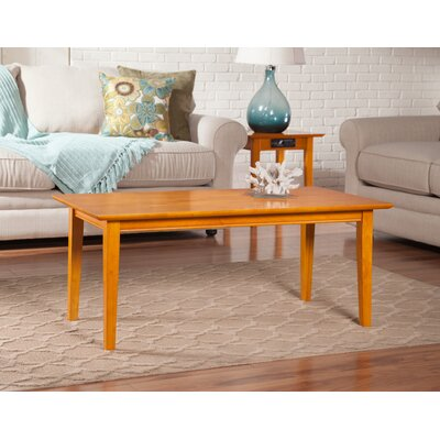 Oliver Coffee Table Finish: Caramel Latte