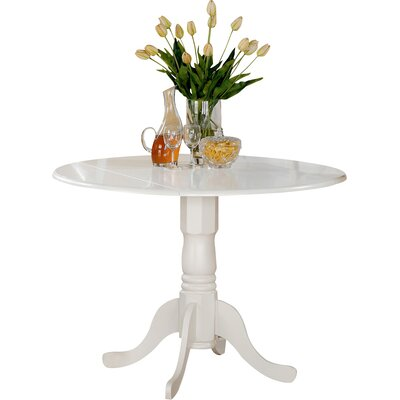 Gloucester Extendable Dining Table Finish: Linen White