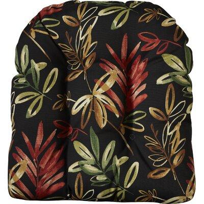 Outdoor Lounge Chair Cushion Fabric: Menillo Midnight