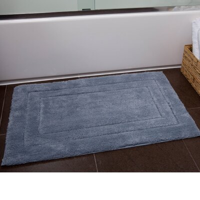 Orson Bath Rug Size: 21 x 34, Color: Midnight Blue