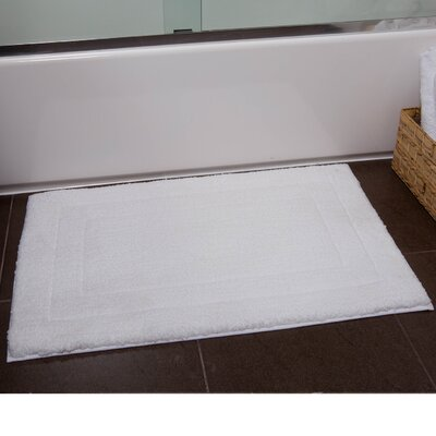Orson Bath Rug Size: 21 x 34, Color: White